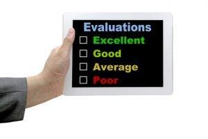 Ergonomic evaluation checklist
